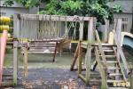 斗六市公園設施破損傷童 民封鎖自救