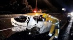 轎車、警車、拖吊車連環撞 國道6傷