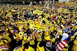 《TAIPEI TIMES 焦點》 Thousands rally in Malaysia calling for PM to resign