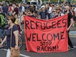 反對反移民暴力 德千人遊行「歡迎難民」