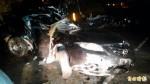 宜蘭縣壯圍鄉小轎車撞電桿 2人傷重不治