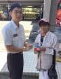 婦人感念送紅包與發票  消防隊婉拒
