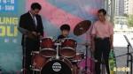 「搖滾台中」音樂會 人氣盲人小鼓手呂岳駿代言