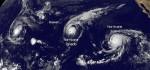 史上首見!太平洋3颱風排排站