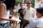 抗議漠視身障學生工作權 勞團今齊聚勞動部