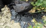 環保督察查獲濫倒廢油泥 嚴重污染土壤