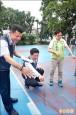 潭子石牌公園籃球場 市長允撥款修建