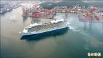 海洋量子號首航基港 遊客創紀錄
