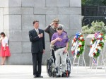 《TAIPEI TIMES 焦點》 Top diplomat joins US commemoration of WWII