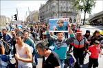 難民匈牙利衝關 出走奧地利