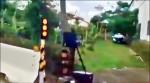 測速照相放路邊 警藏遠處挨轟