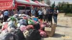 鹿港捐血、捐舊衣  活動湧現人龍