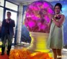 世界最大粉紅水晶球  創金氏世界新紀錄