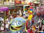 〈淡水環境藝術節〉回收物當彩衣 2千人瘋踩街
