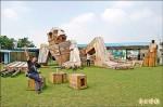 土溝農村美術館 看見幾米、進擊的巨農