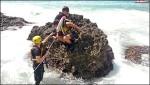 墾丁潛水漂流 11中國客獲救