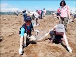 金山淨灘 清出2193公斤垃圾