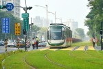 《TAIPEI TIMES 焦點》 Taiwan's first light-rail to begin trial run this month
