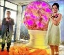 直徑145.6公分粉晶球 創金氏世界紀錄