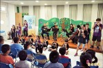台灣絃樂團演出 大進童陶笛合奏