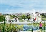 改造中國城變「潟湖」 民眾發揮想像