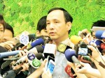 《TAIPEI TIMES 焦點》 Chu ready to step in should Hung quit race
