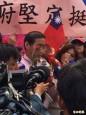 國民黨部陳抗活動 成中華統一促進黨爭取票源現場