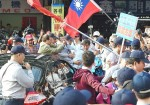 《TAIPEI TIMES 焦點》 Hung supporters protest as KMT set to do U-turn