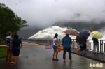 石門水庫逼近滿水位 中午起排洪