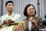關注農業改革 蔡參訪東京果菜市場