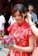 榜首美女警花嫁了 愛傳統遵古禮