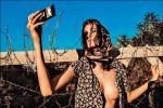 女模露奶裝難民 匈牙利攝影師被圍剿