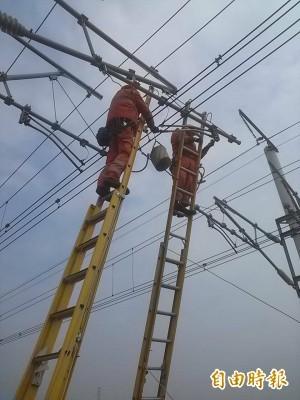 高鐵電車線強震受損 盼傍晚能全線搶通