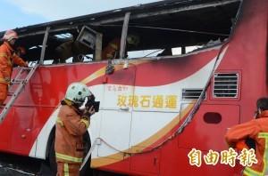 不滿火燒車後遭汙名化 200台遊覽車明圍交通部