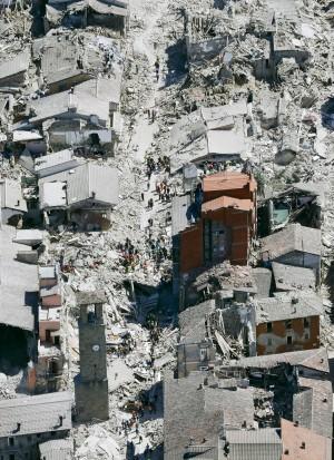 義大利強震至少73死 3城鎮村莊面目全非
