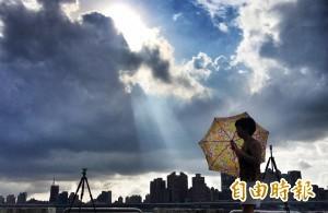 颱風影響北部有雨 下週一東北風增強將變涼