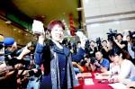 《TAIPEI TIMES 焦點》 Hung Hsiu-chu's donation aimed at inspiring flood