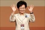 林鄭月娥當選香港特首 港人批北京傀儡