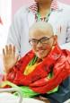 《TAIPEI TIMES 焦點》 Rescued trekker has birthday in hospital