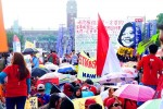 《TAIPEI TIMES 焦點》 Migrants, supporters rally for better conditions, rights