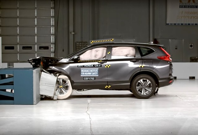 Iihs honda cr v for Iihs honda crv