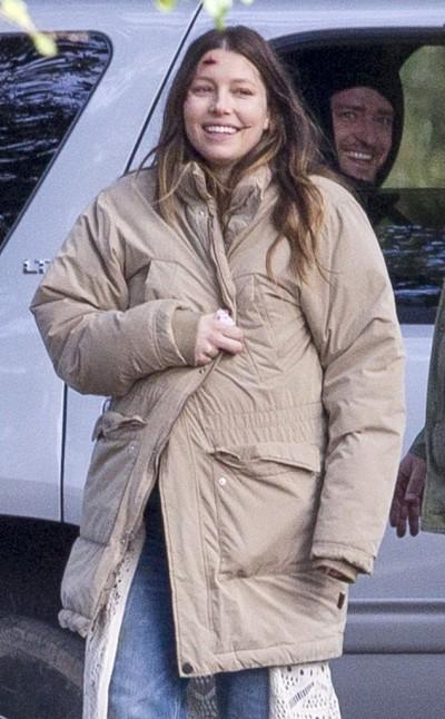 貝兒4月生娃忙拍戲    賈斯汀探班送驚喜