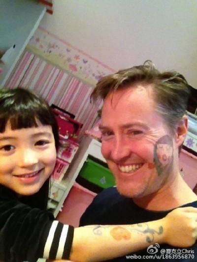 夏克立炫娃 5歲女萌到爆