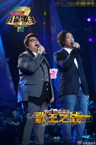 《歌手3》孫楠:讓後輩 韓紅:只是幸運