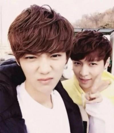退出EXO友情不變  Lay:鹿晗是一輩子的兄弟
