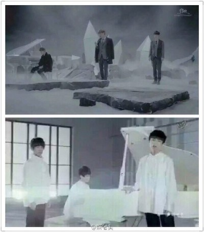 中國小鮮肉團體   爆抄襲EXO舊歌MV