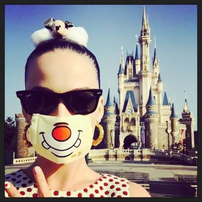 凱蒂佩芮還不來台    東京迪士尼被捕獲