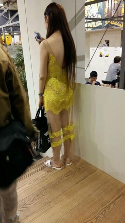 強國Style太赤裸   穿這樣逛首爾LINE專賣店