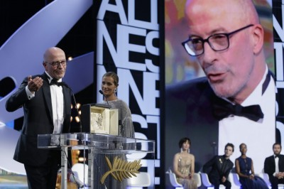 金棕櫚大獎   地主法國導演抱回