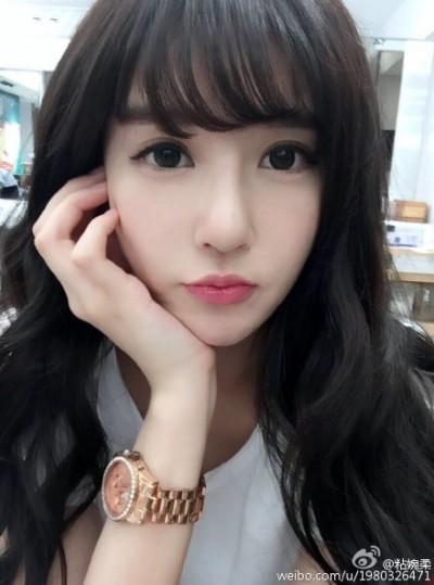 郭碧婷的「傳說中女友」美到極限!